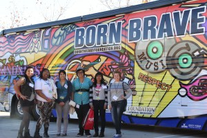 Youths from BHC sites throughout California participated in the #DREAMBRAVE Youth Summit./Photo by FABIAN GONZALEZ/South Kern Sol