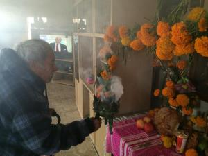 Modesto Antonio Lopez, 105, started celebrating this week
