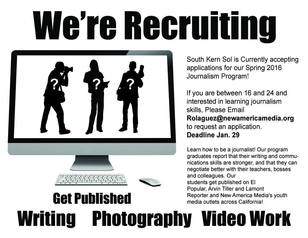 El Sol Recruiting poster (1)